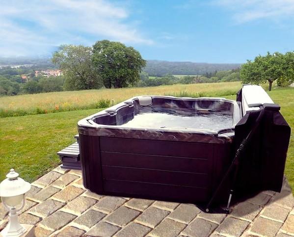 achat vente bain remous allonge massage jardin exterieur