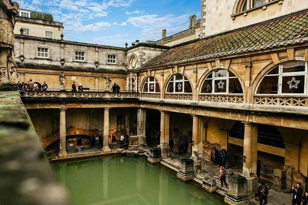 Origine spa bains thermes romains viskan