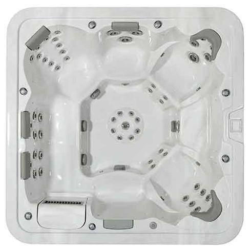 lugano spa portable thérapeutique 8 places