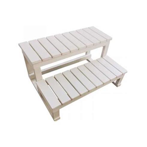 marches acces bain remous bois blanc