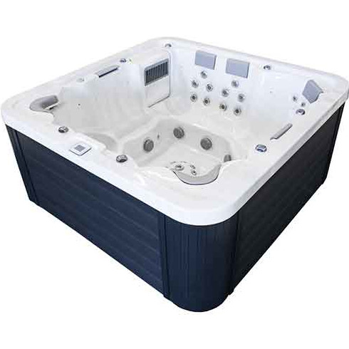 jacuzzi bain remous lugano massages exterieur 8 places